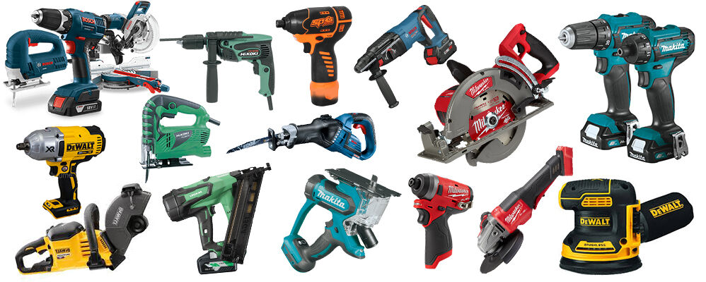 Battery Power Tools Banner