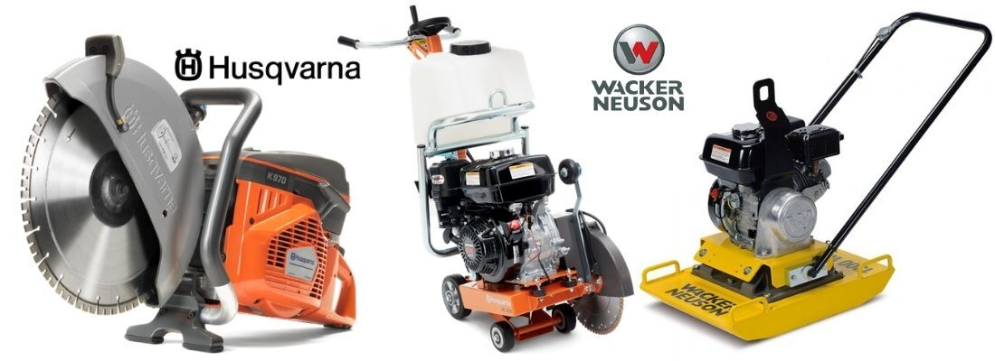 CONSTRUCTON EQUIPMENT REPAIRS AND SERVICE WACKER NEUSON HUSQVARNA