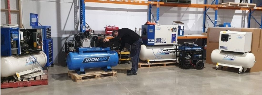 rotary screw and piston air compressor service and repairs